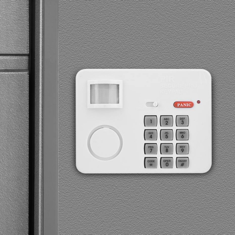 Wireless Security Infrared Detectors Motion Sensor Safe Door Window Alarm Home Security System Burglar Keypad Password Lock