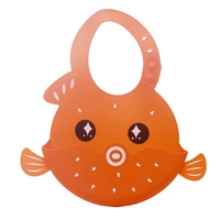 Waterproof Baby Silicone Bibs Burp Cloths Toddler Kids Adjustable Feeding Snap Buttons Bib Soft Absorbent Aprons