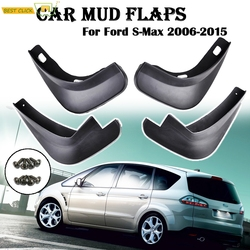 Front Rear Car Mud Flaps For Ford S-Max 2006 2007 2008 2009 2010 2011 2012 2013 2014 2015 Mudguards Mudflaps Splash Guards