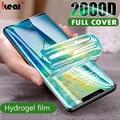 2000D Screen Protector Hydrogel Film Für Huawei P40 P20 P30 Lite Schutz Film Für Honor Mate 30 20 40 Pro 10 ich Lite Film Nicht Glas handy zubehör