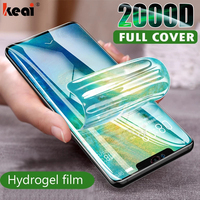 2000D Protector de pantalla hidrogel de película para Huawei P40 P20 P30 Lite película protectora para Honor amigo 30 20 40 Pro 10 Lite película no de vidrio protectores de pantalla hidrogel pelicula