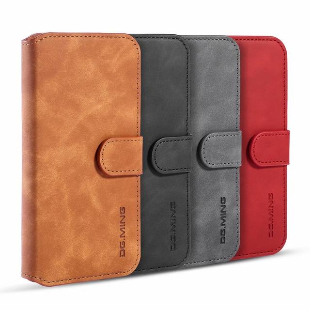 Premium Leather Flip Wallet Case for iPhone 11/11 Pro/11 Pro Max 5