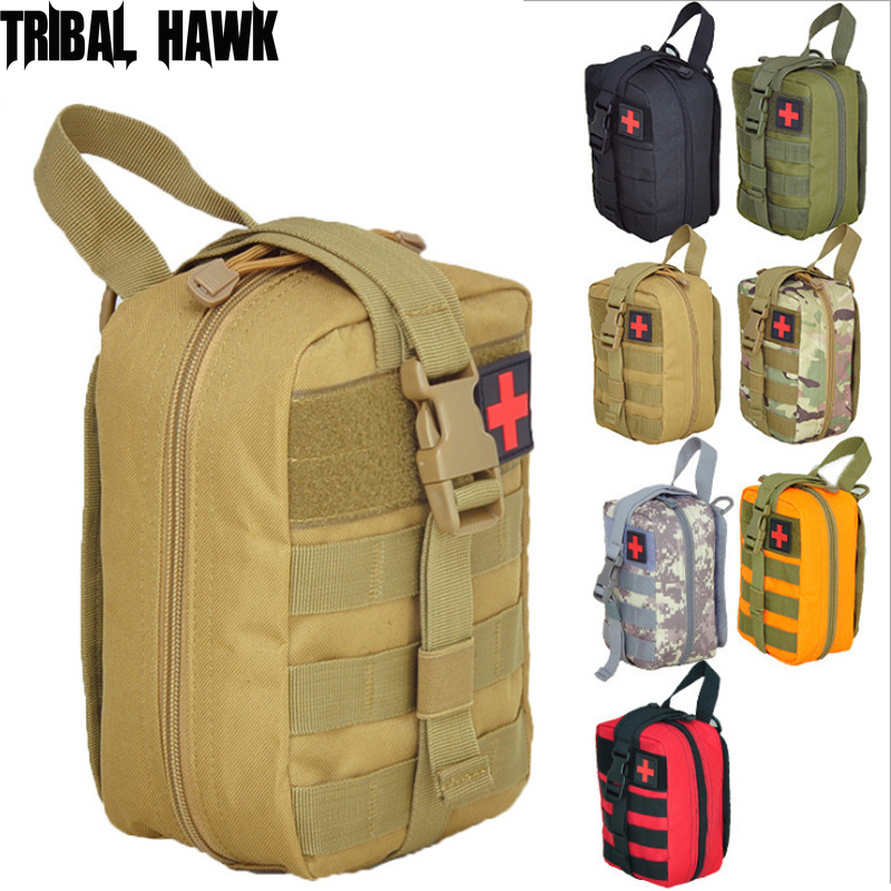 Military Molle Pouch Camping Survival First Aid Kit Bag Tactical Medical Waist Pack Emergency Outdoor Hunting Travel Backpack Safety & Survival  - AliExpress