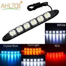 Ampoules décoratives flexibles pour voitures, 1x voiture, 6 9 10 12 16 20 DRL, Ip67, bande DC 12V