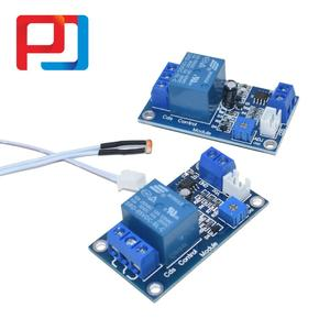 Image 1 - XH M131 DC 5V/12V interruptor de Control de luz relé fotorresistor Detección de Módulo Sensor 10A módulo de Control automático de brillo 10 Uds