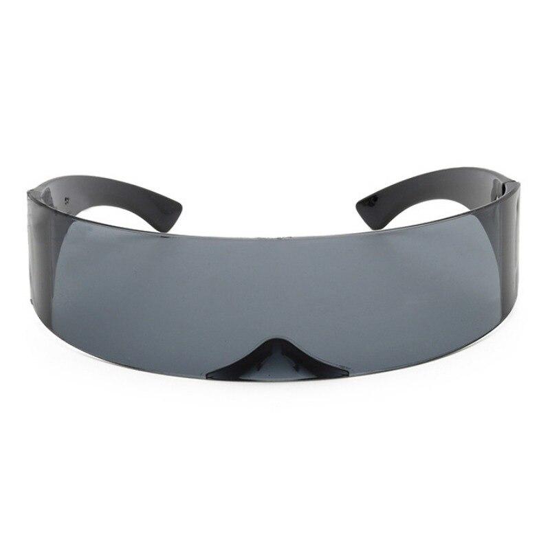 funny futuristic wrap around monob costume sunglasses mask novelty glasses new.