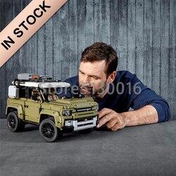 В наличии 93018 Technic Car Series 2573 шт. модель здания совместима с 42110 игрушки для детей рождественские подарки