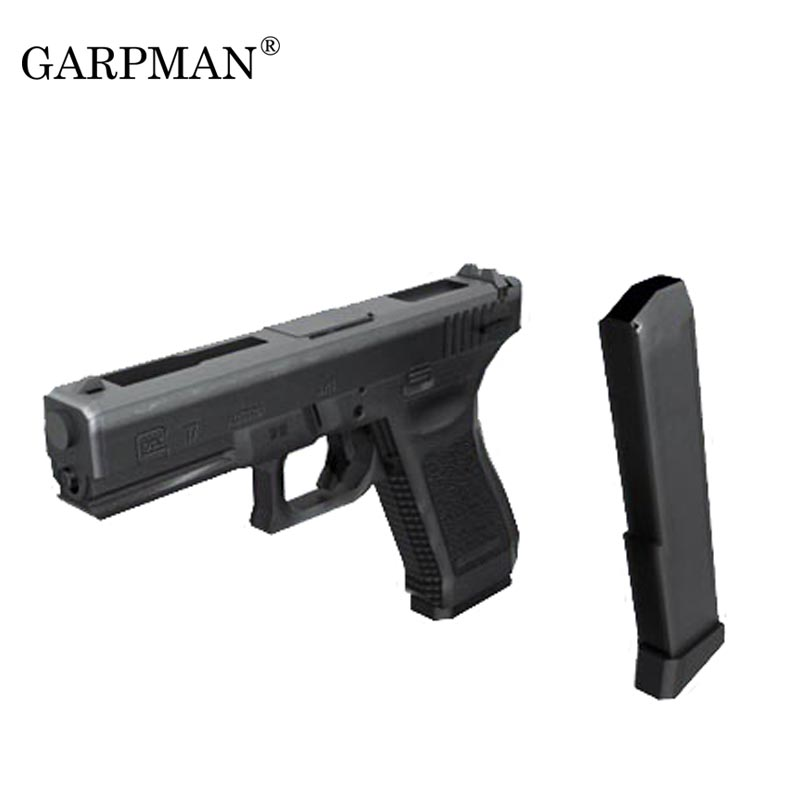 1:1 G17/18 Pistol Gun Paper Model Magazine 3D Puzzles Handmade Weapon Model Toy