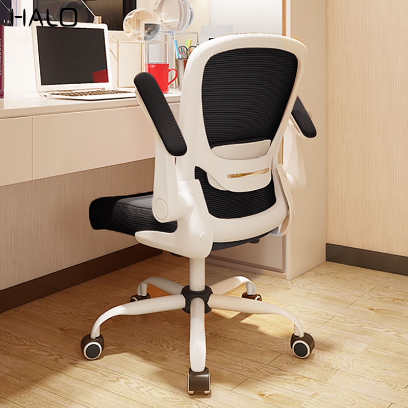 Computer Chair Home Comfortable Dormitory Bedroom Swivel Chair Space Saving Simple Writing Office Student Study Chair Aliexpress