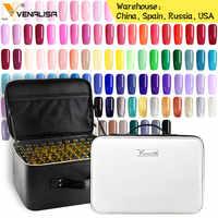 2019 neue 111 mode farbe 12ml Venalisa gel polnischen vernish farbe gel polnisch für nail art design ganze set nagel gel lernenden kit