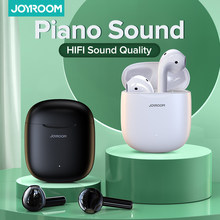 Joyroom T13 TWS Wireless Earphones Bluetooth 5.0 Waterproof Earbuds HD Stereo Built-in Mic for Xiaomi iPhone Huawei Piano Sound