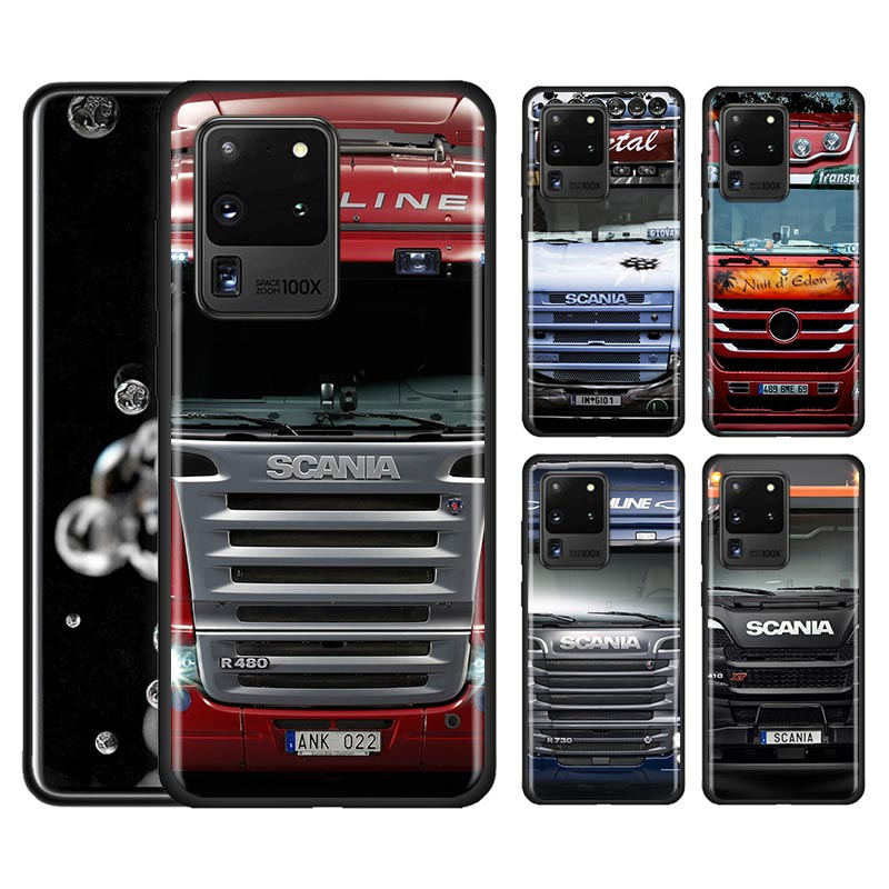 Truck SCANIA Pattern Silicone Case For Samsung Galaxy S20 Ultra ...