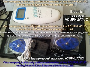 Image 4 - ACUPHUATUOใหม่การฝังเข็มอิเล็กทรอนิกส์นวดเครื่องมือนวดไฟฟ้าอุปกรณ์FZ 1เท่านั้นการจัดส่งรัสเซียแบตเตอรี่