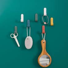 4 шт/компл крючки для полотенец пластиковые дверные вешалки