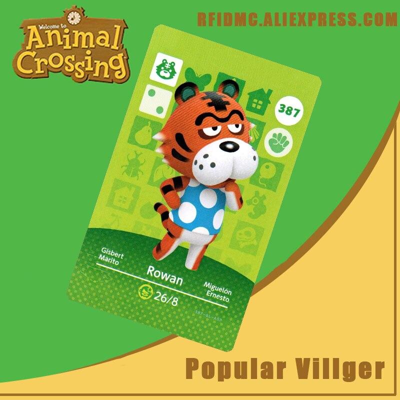 387 Rowan Animal Crossing Card Amiibo For New Horizons