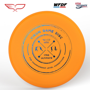 Yikun Professional Ultimate Flying Disc Certified by WFDF For Ultimate Disc Competition Sports 175g