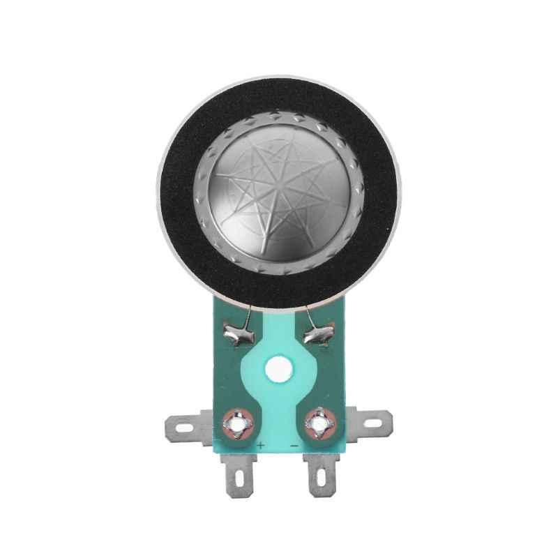 25.4MM tweetery cewka drgająca okrągły głośnik Audio Treble Coil Horn Film tytanowy miedź platerowane Alumium membrana akcesoria do naprawy