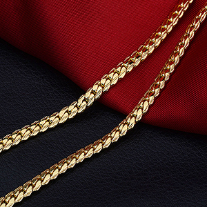 5mm Mens Chains Necklaces...