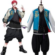 Cosplay Costume Uniform Jacket Kuko Harai Hypnosis Mic Suit DRB Evil Pant Rap Battle