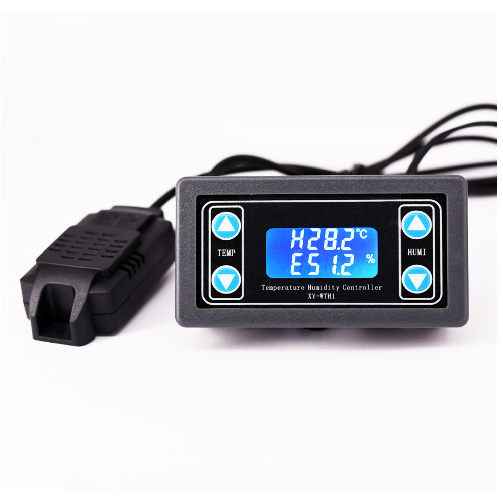 Dc 6-30V Digital Display Constant Temperature Humidity Incubator Controller Dual Output Thermostat For Ac 220V