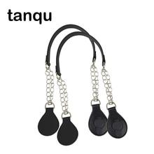 Tanqu 1 ペアメタルショルダーobagためのoバッグカラフルなドロップエンドコンビハンドバッグハンドル