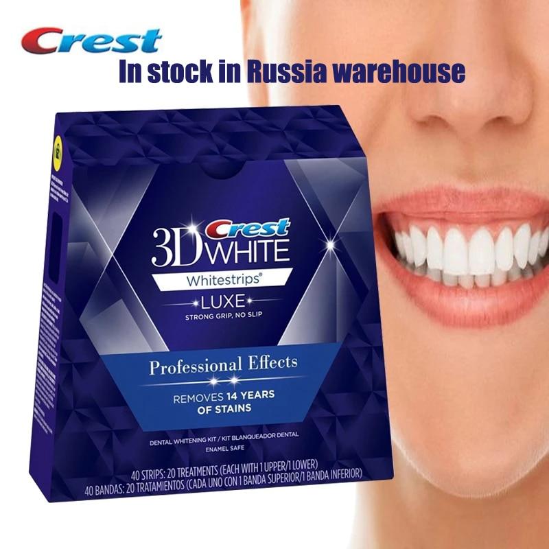 3D Whitestrips Luxe профессиональные эффекты гигиены полости рта Отбеливание зубов Уход за зубами 5/10/20 лечение оригинальные белые полоски Отбеливание зубов      АлиЭкспресс