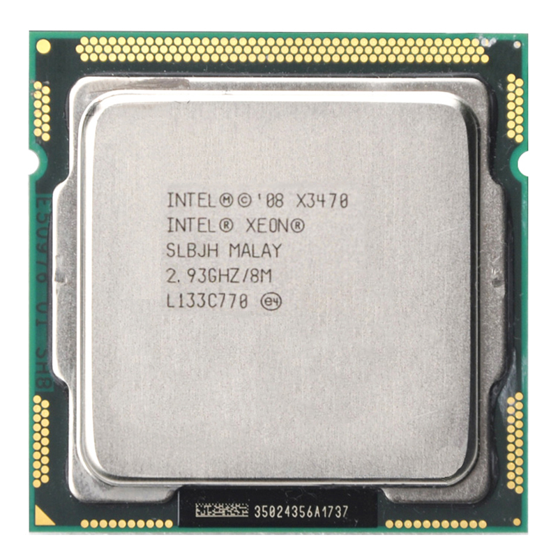 Intel Xeon X3470 CPU 2.9GHz Quad Core 6MB 95W Servidor Socket LGA 1156 CPU