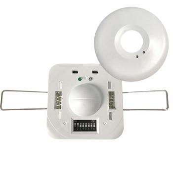 360 degree Microwave Radar Sensor Recessed Motion DetectorLight Switch 220-240V Recessed Ceiling Body Motion Detector for home