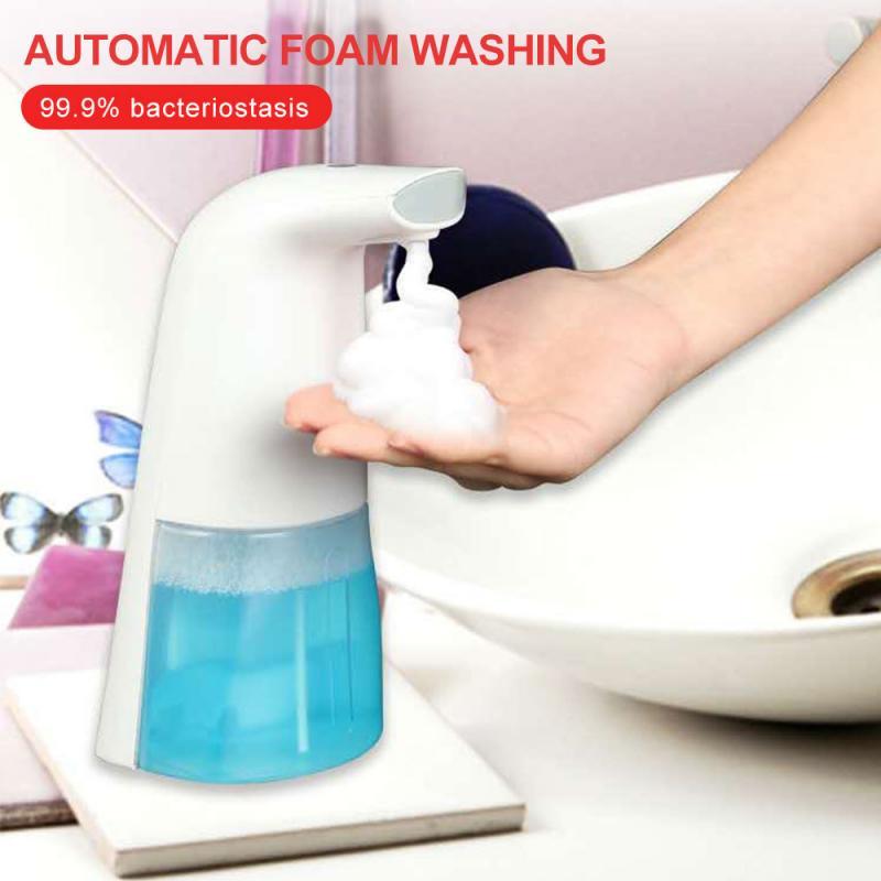 300ml Automatic Electric Touchless IR Sensor Soap Liquid Dispenser For Bathroom Liquid Soap Dispensers Home Improvement