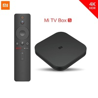 Original Global Xiaomi Mi TV Box S 4K HDR Android TV 8.1 Ultra HD 2G 8G WIFI Google Cast Netflix IPTV Set top Box 4 Media Player