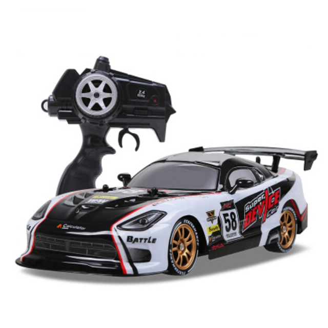 RC Car For GTR/Dodge Viper 4WD Drift Racing Championship 2.4G Off Road Rockster Remote Control Vehicle Electronic Hobby Toys 1