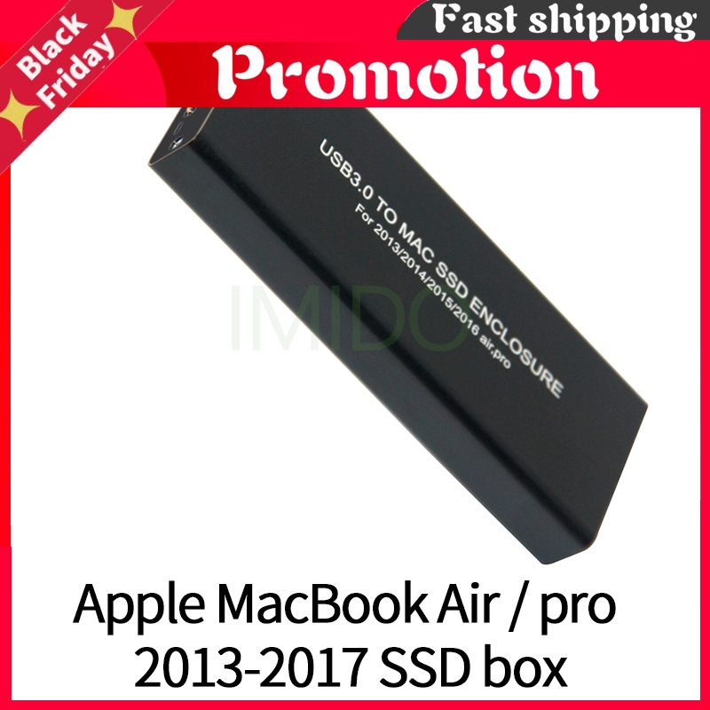 For Apple Macbook Air Pro Retina 2013 2014 2015 /2016 Hard Disk Box Usb3.0 To Mac Ssd Case Enclosure A1466 A1465 A1398 A1502