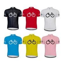 Camiseta de manga corta de ciclismo para hombre, Maillot de ciclismo de montaña, uniforme