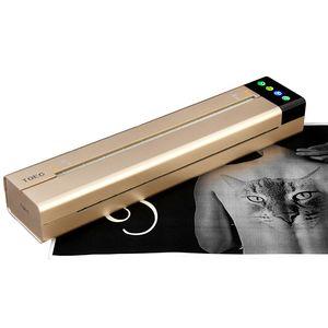 Image 1 - Tymczasowe tatuaże maszyna transferowa drukarka rysunek szablon termiczny ekspres kopiarka do transferu tatuażu papier kopiarka drukarka wtyczka amerykańska