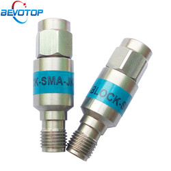 2W DC-Block SMA Male to Female DC-6.0GHz 50ohm RF Coaxial Block SWR 1.2 DC blocker Connector 2 Types