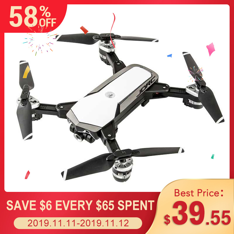 JDRC JD-20S JD20S PRO WiFi FPV Drone W/ 5MP 1080P HD Camera 18mins FlightTime Foldable RC Mini Drone Quadcopter Helicopter RTF