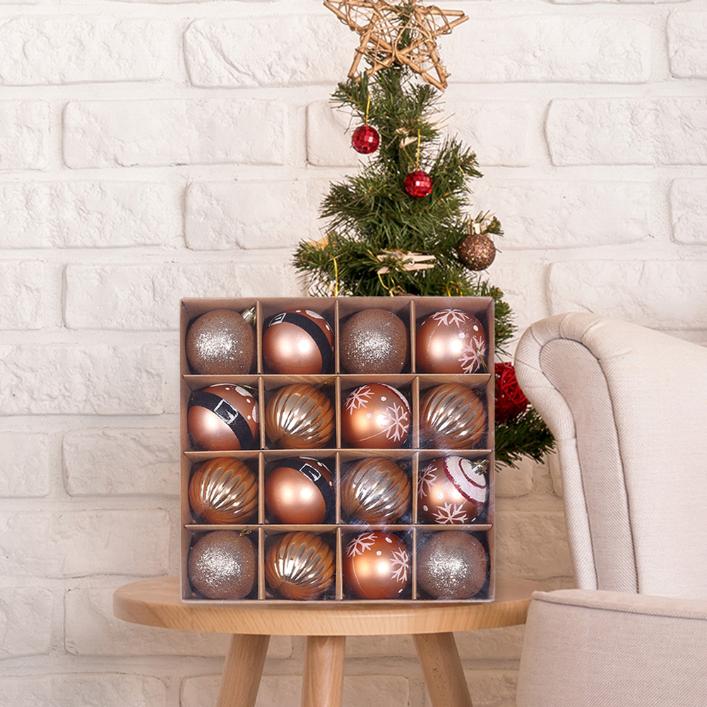 16 x Christmas Tree Baubles 6