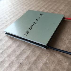 Image 3 - Thermoelectric Power ชิปรุ่น TGM 199 2.0 1.2 62*62 มม.7V 4.8A อุณหภูมิ 260 องศา Thermoelectric โมดูล
