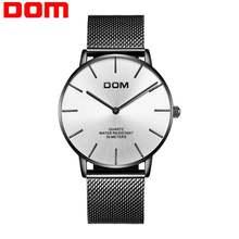 Dom часы Для мужчин топовая фирма Роскошные Кварцевые Повседневное