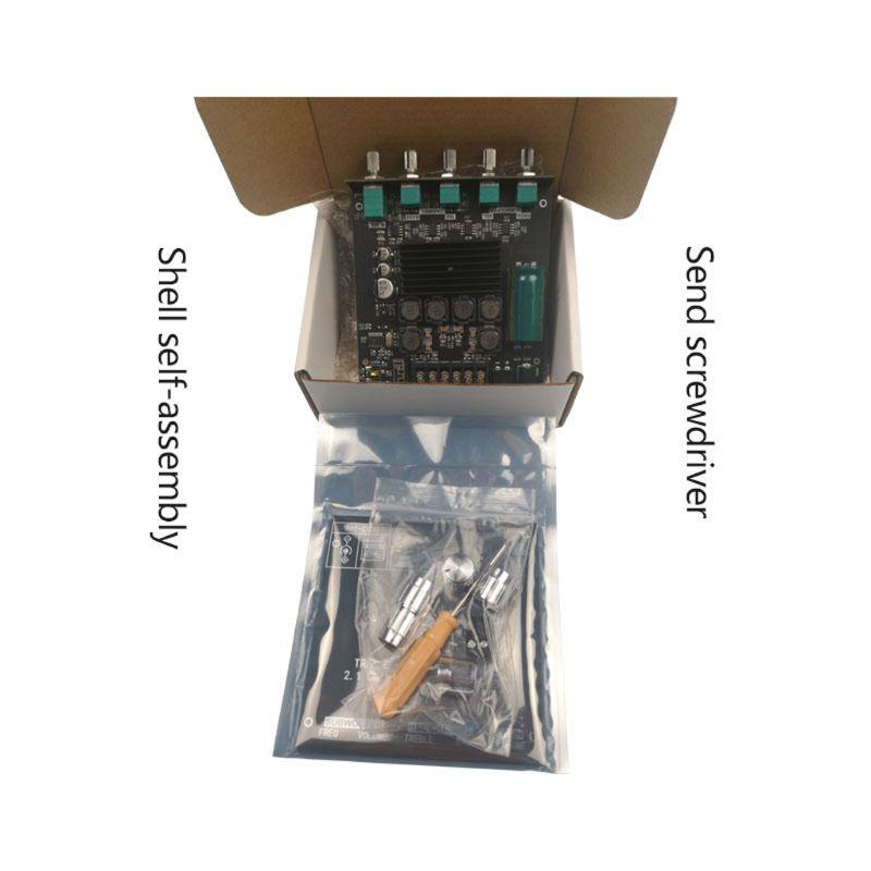 [해외] ZK-TB21 TPA3116D2 Bluetooth 5.0 서브 우퍼 증폭기 보드 2.1 채널 AMP 모듈