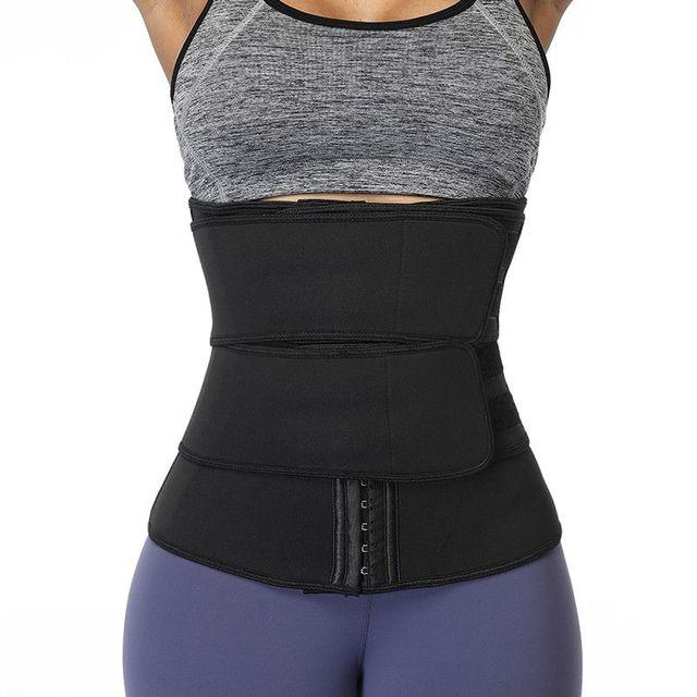 Slimming Abdomen Belt Chlorine Fiber Girdle Belt Postpartum Strengthening Sports Girdle Yoga Waistband Sweat Band
