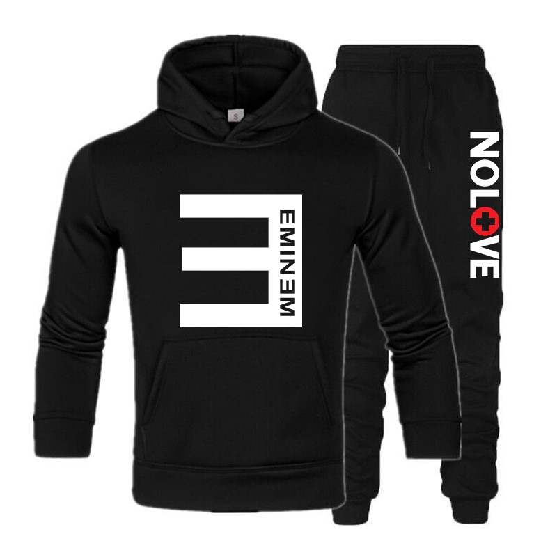 New Eminem warm Thicken Hoodie Jacket Sweater fleece coat clothing#
