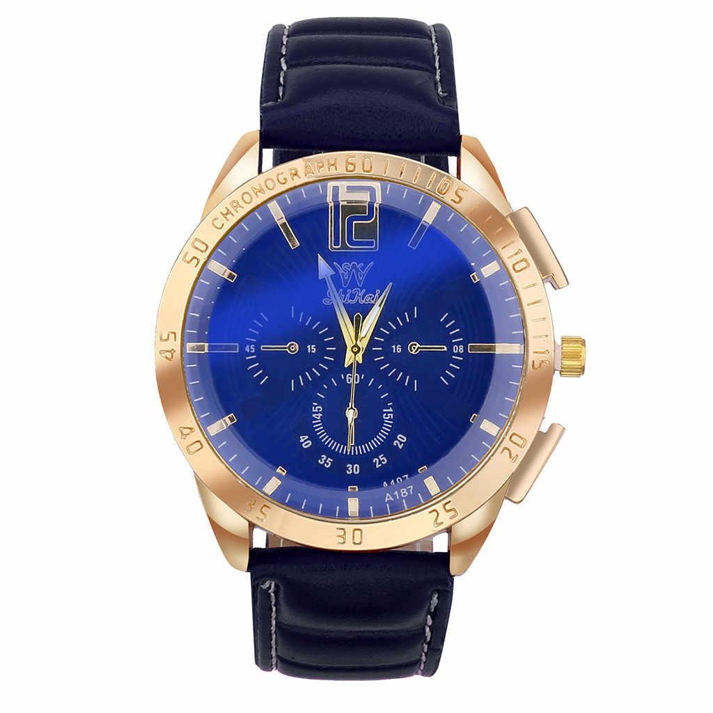 OTOKY 腕時計カジュアルジュネーブローマ数字レザー腕時計女性腕時計レロジオ Feminino 腕時計 19August06