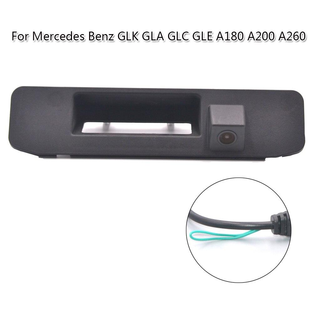 Новый светодиодный HD камера заднего вида, водонепроницаемая камера ночного видения, 170 градусов RAC Для Mercedes Benz GLK GLA GLC GLE A180 A200 A260