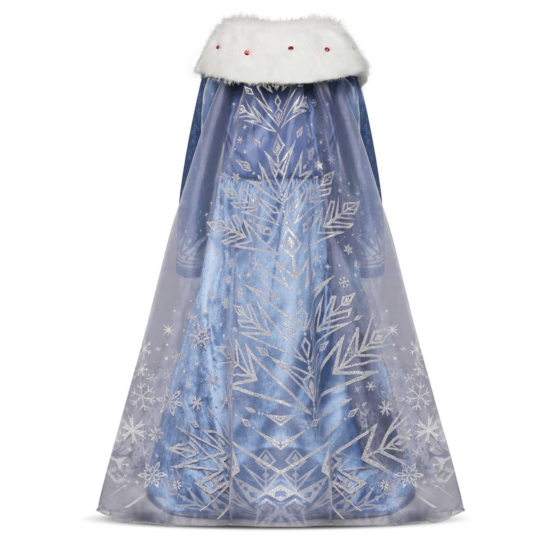 を 2019 ホット販売冷凍エルザアンナ女の子のプリンセスドレス子供ドレスの脂肪の生成