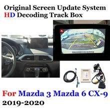 цена на Car Rear View Reversing Camera For Mazda 3 / 6 / CX-9 2019 2020 Mazda3 Mazda6 CX-9 Original Display Camera Decoder