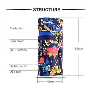Image 3 - 증기 폭풍 푸마 베이비 80W 폭스 바겐 TC 박스 모드 Vape Mod 패션 쉬운 지원 18650 배터리 전자 담배 RDA RDTA Vaper 키트