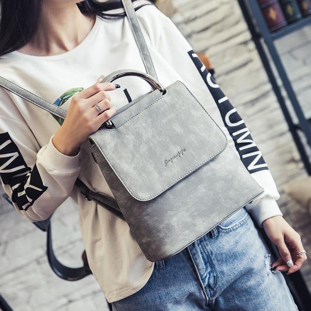 Sac à dos dhiver pour femmes, Mini sac à bandoulière portable loisirs à double usage, nouvelle collection nouveauté