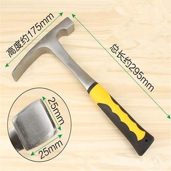 Professional geological hammer exploration hammer multifunctional mining hammer geological survey tool цена 2017
