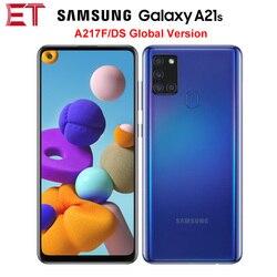 Глобальная версия Samsung Galaxy A21s A217F/DS 4G мобильный телефон 4 Гб 64 Гб Octa Core 6,5